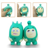 Wholesale Toy Soldiers Free Shipping - Squishies Soldier New Toys Kawaii Squishy Jumbo Green Cartoon Relaxation Kids Scent Slow Rising Free Shipping SQU030