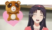 Wholesale Tanuki Doll - Wholesale-Japanese Anime Gekkan Shoujo Nozaki-kun Cosplay TANUKI Kawaii Bear Stuffed Plush Doll Figure Soft 30cm Height Toy COSPLAY