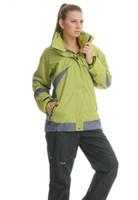 Wholesale Cheap Waterproof Jackets For Men - Wholesale-Hot Sale Autumn winter Climbing Wear Jacket For women's Long Sleeve 2Size 7Color Waterproof Windproof Cheap Cozy Outdoor