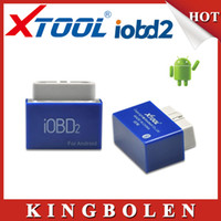 Wholesale Smart Reader Android - New Released Android Automotive OBDII EOBDII Code Reader Smart Car Doctor iOBD2 Android Bluetooth With Free Software Free Ship