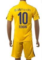 Wholesale Roman Wear - Customized 15-16 New season men 10 ROMAN Soccer Jerseys Sets,Discount Cheap Athletic Outdoor 5 GAGO top Soccer Wear tops,soccer uniforms kit