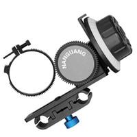 seguir los engranajes de enfoque al por mayor-Freeshipping Follow focus finder CN-90F Follow-focus con Gear Ring Belt para cámaras Nikon DSLR de Canon Videocámaras