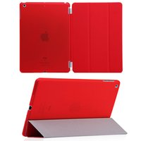 Wholesale Tablet Screen Magnetic Covers - iPad Air 2 Leather Smart Cover Wake & Sleep Stand Magnetic Case For 7.9'' Apple iPad Mini 2 3 4 Tablet PC Laptop Flip Folio Covers