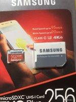 Wholesale 128 Gb Micros Sd - Samsung evo plus memory card micro sd card 256GB 128 GB 128GB 64GB class 10 microsd TF Card for Cell phone mp3 micro sd C10