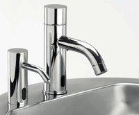 Wholesale Faucet Soap - automatic soap dispenser faucet style soap holder faucet&hands soap dripping hands washer set for basin