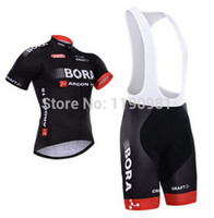Wholesale biker clothes online - Roupa Ciclismo bora argon Cycling jersey short sleeve bib shorts sport jersey bicycle clothing biker wear bicicletas