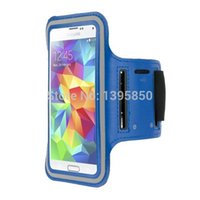 переносная консоль оптовых-Wholesale-50pcs/lot free shipping,Fashion Sport Armband Case For  Galaxy S5 i9600 Case Cell Mobile Phone Bags Cases runing Arm Band