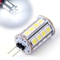 Wholesale Type G4 Bulb Led 12v - High Quqlity Energy Saving G4 LED Spotlight Blub 30 LED 5050-SMD Tower Type Spot Light Bulb Lamp DC 12V 19730 Z