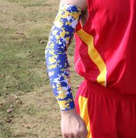 Wholesale Elite Pad - Hyper Soccer Baseball Football Basketball Sports Digital Camo arm sleeve Elite