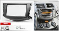 Wholesale car dvd installation resale online - Carav Double Din Car Radio Stereo Face Facia Fascia Panel Frame DVD Dash Installation Surrounded Trim Kit for Toyota RAV