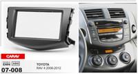 Wholesale Double Din Toyota - Carav 07-008 Double Din Car Radio Stereo Face Facia Fascia Panel Frame DVD Dash Installation Surrounded Trim Kit for Toyota RAV 4 2006-2012