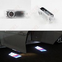 Wholesale Laser Logo Car Door Bmw - Interior Lights LED door Decoration courtesy laser projector Logo Ghost Shadow lamps For BMW M3 M Power M-Sport M-TECH