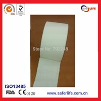 Wholesale Rigid Strap - Saferlife Homecare 3.8cm x 10m wholesale Athelet Sports Strapping Tape Cotton Rigid Strapping Tape Rigid tape SL08-015