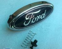 ford vorne großhandel-Emblem-Abzeichen für das Kühlergrill-Logo 1,8 Liter Passend für FORD FOCUS 2 2005-2013
