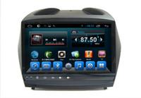 radio gps hyundai ix35 al por mayor-Sistema de navegación dvd Android para automóvil con 2 Din Hyundai IX35 Central Multimedia Radio estéreo con Bluetooth RDS 2009 2010 2011 2012 2013