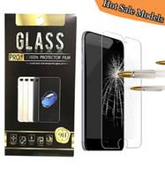 Wholesale Blade Screen Protector - For ZTE tempo X max XL blade V6 Alcatel A30 fierce LG K20 Plus J7 Prime Screen Protector Model New Tempered Glas