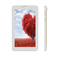 7 pollici MediaTek Quad-core 3G Phone Tablet PC 3G WCDMA 2G GSM Chiamata GPS Bluetooth 1280x800 IPS 1G RAM 8G ROM Android Phablet PC