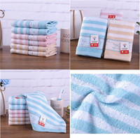 Wholesale baby magic compress resale online - 35 cm High Quality cotton Hand towels Magic Dry Drying Turban Wrap Towel Quick Dry Dryer Bath make up Square towel Children s towels mk144