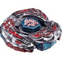 игрушки быстроты оптовых-BAYBLADE 4D RAPIDITY METAL FUSION Набор игрушек для спиннинга L-Drago Destroy (Destructor) Metal Fury 4D BB108