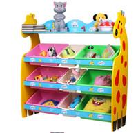 gabinete de estanteras de fawn de dibujos animados supertamao de recibir