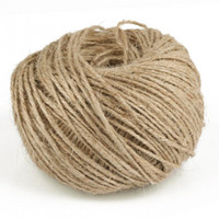 Wholesale 2mm Natural Jute Twine - 100m Length Hemp Rope 2mm Diameter Decorative Hemp Rope High Quality Jute Twist Rope Handmade Natural Jute Twine Cord For Tags