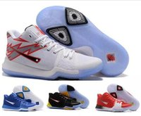 Wholesale Outdoor Games For Kids - kids Big boy Size 36-46 Kyrie Irving 3 Signature Game Basketball Shoes For Top Quality kids Sports Training Basket ball Sneakers US5.5-12
