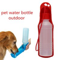 Pieghevole serbatoio Pet Dog Water borracce Dispenser di comodi all'aperto alimentazione design portatile