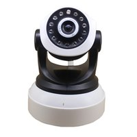 Camera Pan Tilt IP wireless di WIFI 720P CCTV di sicurezza domestica della camma micro SD Slot Microfono P2P APP per Iphone Android ipcam