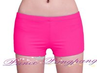 Wholesale Boy Short Swim Bikini - Wholesale-2015 New Womens Ladies Plain Swim Shorts Bikini Swimwear Boy Style Short Brief Bottoms M L XL XXL XXXL