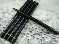 Wholesale Automatic Eyeliner - free gift!! 12pcs lot Hot selling Waterproof automatic black blue brown eyeliner pencil