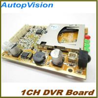 Wholesale Rs232 Module - Tiny car dvr module MPEG-4 D1 resolution 30fps 32G sd card dvr, 5v-32v, RS232 port