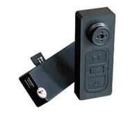 Wholesale new arrival spy camera - 2105 New Arrival Portable Video Audio Spy Hidden Camera Button HD Mini Camcorder DV DVR Recorder 720*480 Drop Shipping