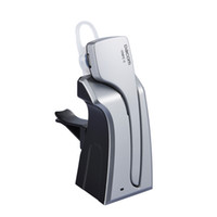dacom kulaklıklar toptan satış-Dacom C-blue1 Kablosuz Bluetooth Araç Araç Kulaklık Desteği NFC iPhone Samsung Cep telefonları için Mikrofon Stereo Handfree Kulaklık ile
