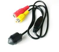 Wholesale Pinhole Camera Sd - Wholesale CCTV 700TVL CMOS HD mini Pinhole Security Camera Black