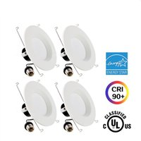 "Led Energy Star online - LED Recessed Down Light 8W 12W 5"" 6"" UL Energy-Star Dimmable Lighting Fixture LED Ceiling Light - LED Retrofit Downlight"