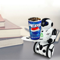Wholesale Product Sense - 1Pcs RC Robot Remote Control Self-Balanced Gesture-sensing Robot Tray Kids Gifts