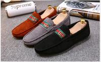 Wholesale fabric roman - Us size: 6.5-10 Men's shoes Roman Fashion Comfortable Men Shoes Lace-up Solid Leather shoes Men Causal huarache Hot Sale