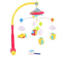 Baby Bed Bell Музыкальная мобильная кроватка Dreamful Bed Ring Hanging Rotate Bell Rattle Родительский пульт дистанционного управления Intelligence Educational Toy
