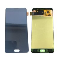 Wholesale samsung galaxy a5 screen assembly online - Super AMOLED LCD Display Testsd Working Touch Screen Assembly For Samsung Galaxy A5 A510 A510F A510 Gold Black White DHL logistics