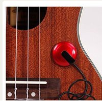 Wholesale microphone parts - Piezo Contact Microphone Pickup for Guitar Violin Banjo Mandolin Ukulele Guitar Parts & Accessories hight quality original 15% off new