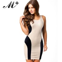 Wholesale Mini Party Dress Black - New Spring 2014 Novelty Sexy Summer Black-white Sleeveless Cutout Back Mini Bodycon Club Party Dress Women LC21307 Free Ship