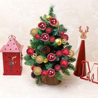 Wholesale Christmas Decorative Ball Ornament - Christmas Decorative Balls String With 60PCS Golden&Red Balls Shatterproof Hanging Balls Xmas Ornaments For Christmas Tree Or Door 6.56Ft