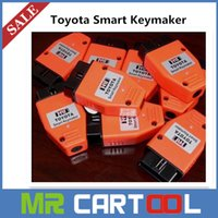 Wholesale Toyota Keys Programmer - 2015 Toyota Smart Key maker 4D chip Toyota Smart Keymaker OBD2 Eobd Key Programmer Free shipping 3 Years Warranty