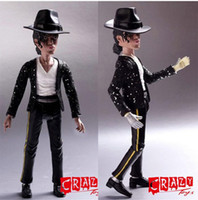 Wholesale Action Jackson - Michael Jackson model toy Free shipping New Arrival high quality action figures Michael Jackson Souvenir minifigures toy best gift for fans