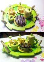 Wholesale Children Wooden Tea Set - Kids Scissors Play Toys Party Gift Fashion Children Play Toys Hot Kids Great Wooden Gift of Birthday Party Wooden Afternoon Tea Sets