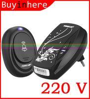 Wholesale Wireless Doorbell Waterproof Button - 2015 AC 220V Digital LED EU Plug 36 Tones Wireless Smart Home Doorbell Door bell Receiver Waterproof Remote Control Button A3