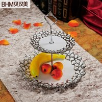 Decorative Home Accessories Living Room Furnishings Creative Wedding Gift Ceramic European Fruit Plate Craft Bunk From Dropshipping Suppliers