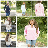 Wholesale ladies hoodie fleece jackets - Women Sherpa Hoodie Ladies Sweatshirt Fleece Jacket Coats Casual Autumn Winter outwear Fleece Jacket Coats KKA3607