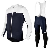 Wholesale tailor s - 2017 POC outdoor cycling clothing sports team and team tailored long sleeved long sleeved long sleeved winter