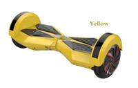 zoll elektrische zwei balance räder großhandel-8.5 Zoll-intelligente Balancenräder Selbstabgleichender elektrischer Roller Roller 36V zwei mit Bluetooth hoverboard hovertrax 4.4AH